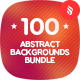 100 Abstract Backgrounds Bundle - GraphicRiver Item for Sale