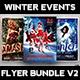 Winter Events Flyer Bundle V2