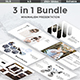 Minimal Bundle - 3 in 1 Powerpoint Template - GraphicRiver Item for Sale