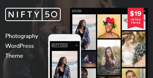 Nifty Fifty Photography WordPress Theme