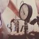 Plumber Works Meter Closeup - PhotoDune Item for Sale