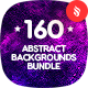 160 Abstract Backgrounds Bundle - GraphicRiver Item for Sale