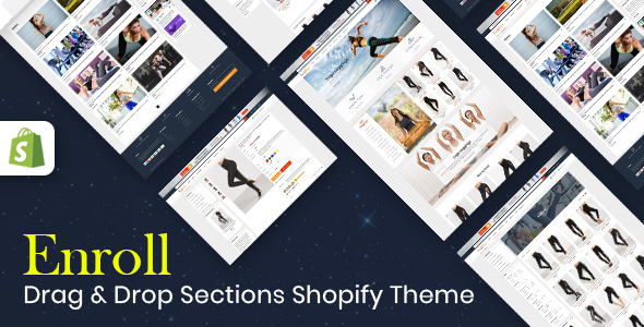 Enroll – Multipurpose Responsive Shopify Theme (Sections Ready)            nulled
