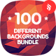 100 Different Abstract Backgrounds Bundle - GraphicRiver Item for Sale