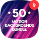 50 Abstract Motion Backgrounds Bundle - GraphicRiver Item for Sale