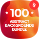 100 Generative Graphics Backgrounds Bundle