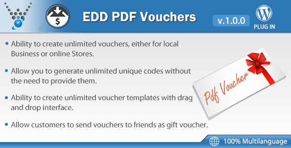 Uncomplicated Digital Downloads – PDF Vouchers (WordPress)