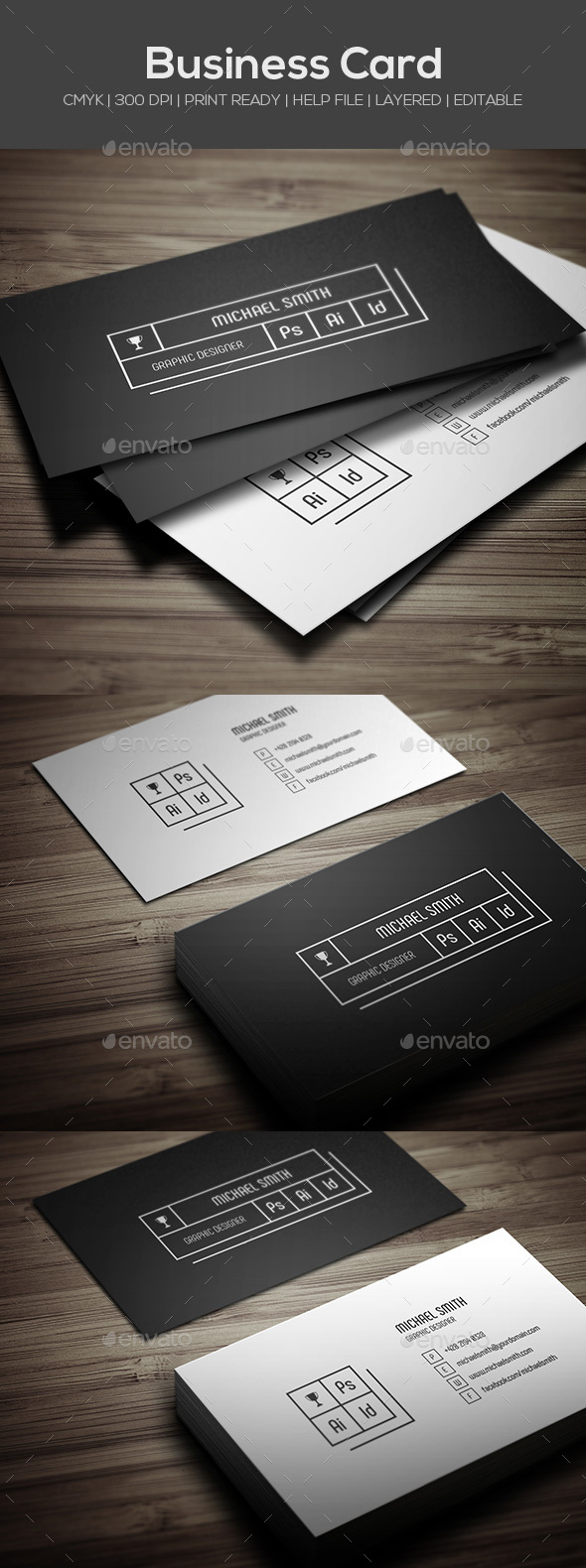 GraphicRiver Personal Business Card 20707588