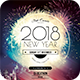 2018 New Year Flyer - GraphicRiver Item for Sale