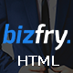 Bizfry - Creative Multipurpose HTML Template - ThemeForest Item for Sale
