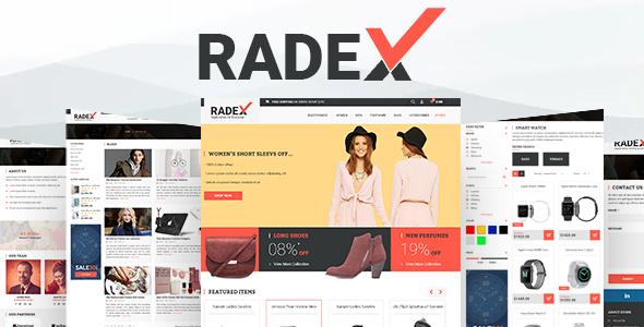 Image of RADEX Multipupose Opencart Theme