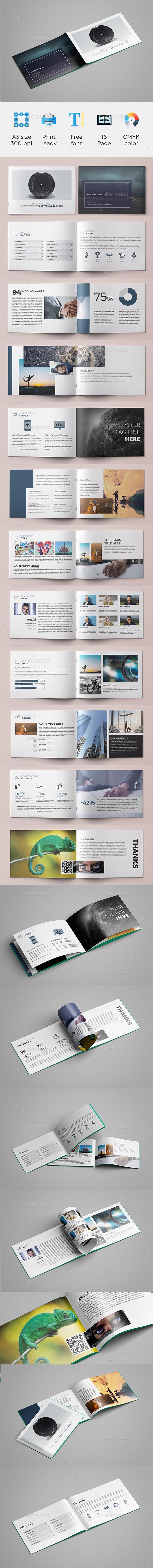 A5 Brochure (Portfolio) - Portfolio Brochures