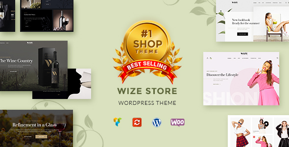 WooCommerce Multipurpose Responsive WordPress Theme - WizeStore