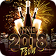 NYE 2018 Party Flyer - GraphicRiver Item for Sale