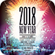 2018 New Year Flyer Template - GraphicRiver Item for Sale
