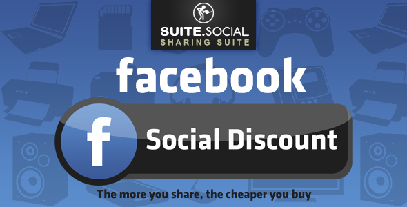 Facebook Discount - The more you share, the cheaper you buy! - CodeCanyon Item for Sale