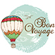 Travel Background with Air Balloon - GraphicRiver Item for Sale