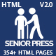 Senior Care & Health Services HTML5 Template - Senior Press