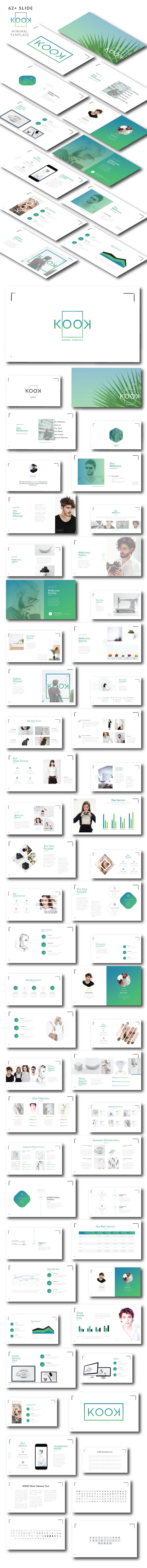 KOOK - Minimal Google Slide - Google Slides Presentation Templates