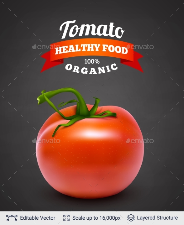 GraphicRiver Tomato and Text 20708094
