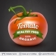 Tomato and Text - GraphicRiver Item for Sale