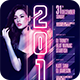 New Year Flyer Template - GraphicRiver Item for Sale