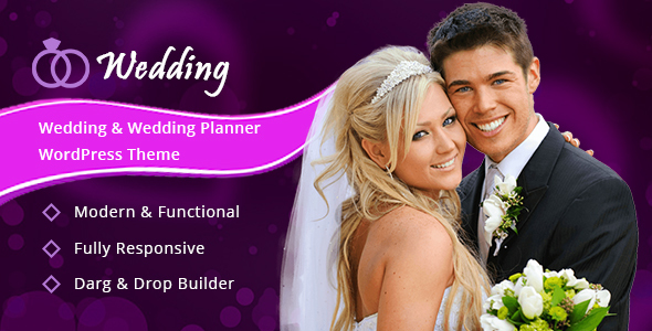 Image of Wedding - Wedding & Wedding Planner WordPress Theme