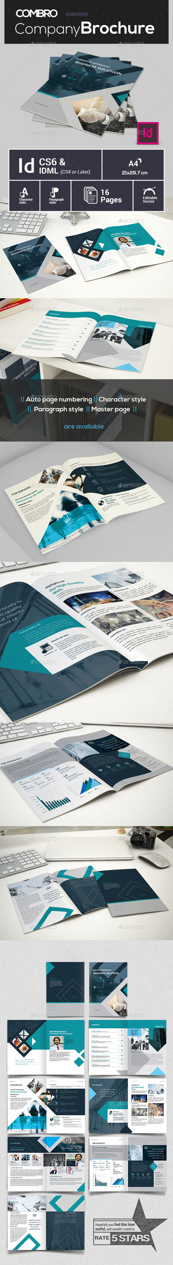 Creative Company Profile - Brochures Print Templates