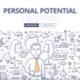 Personal Potential Doodle Concept - GraphicRiver Item for Sale