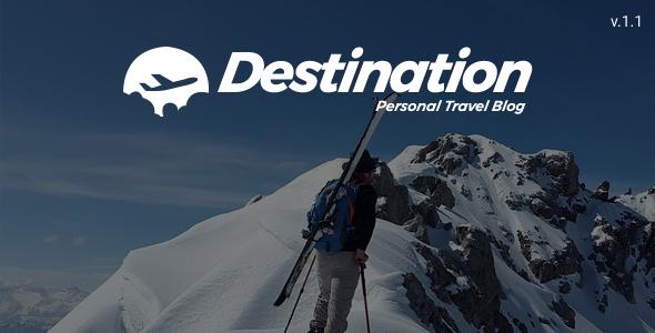 ThemeForest Destination Travel WordPress Blog Theme 20244739