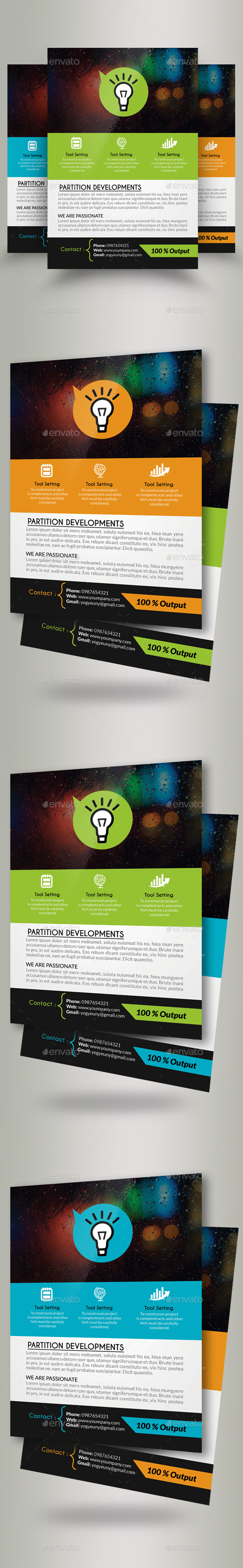 Good Idea Business Flyers - Corporate Flyers