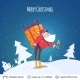 Christmas Background Design - GraphicRiver Item for Sale