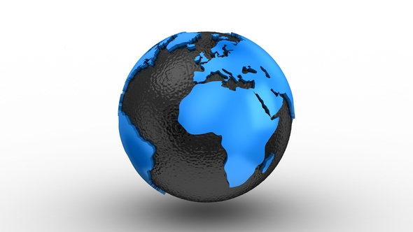 World map turns into a globe by dragun3d videohive play preview video gumiabroncs Gallery