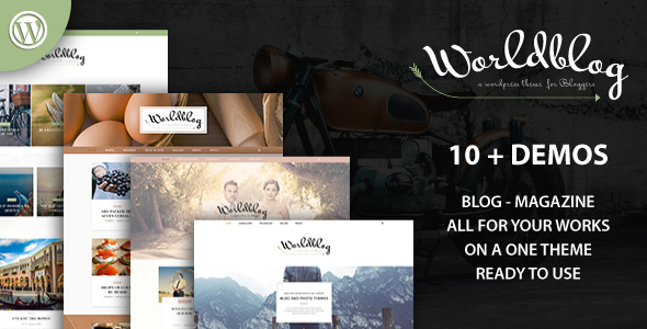 Image of Worldblog - WordPress Blog and Magazine Theme