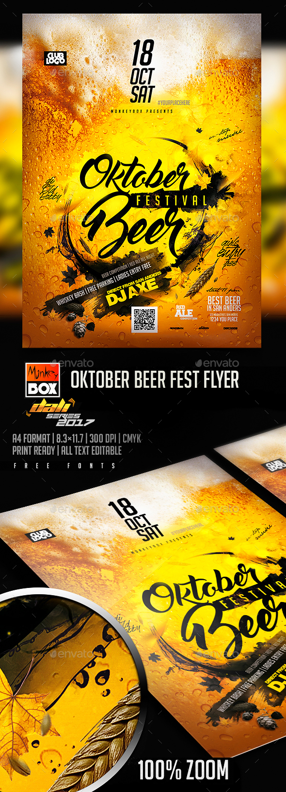 GraphicRiver Oktober Beer Fest Flyer 20704631