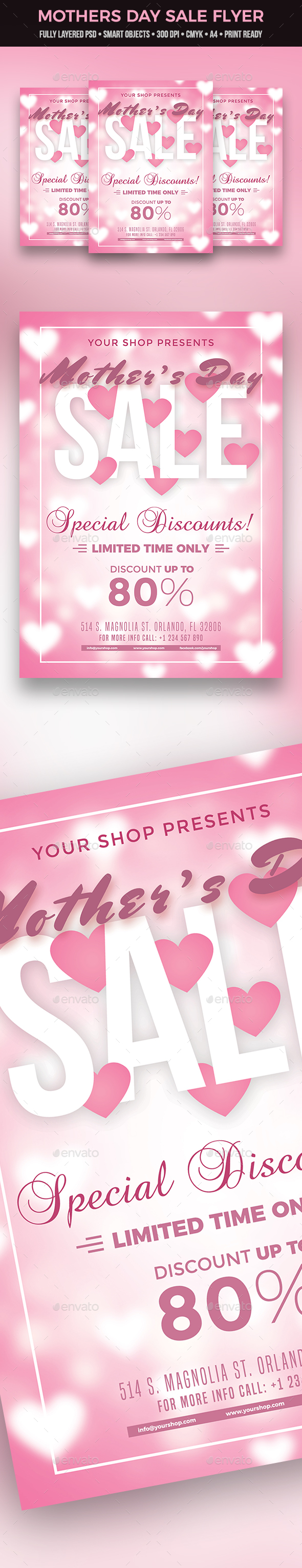 Mother's Day Sale Flyer - Commerce Flyers