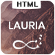 Lauria - One Page Responsive Template