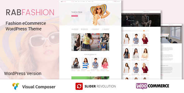 ThemeForest RAB Fashion eCommerce WordPress Theme 20709505