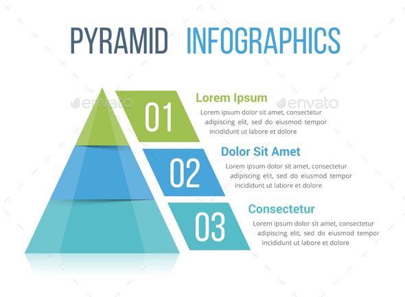GraphicRiver Pyramid Infographics 20709550