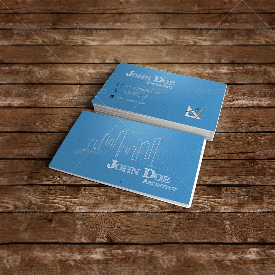 Architect business card by zippy09 graphicriver architect business card industry specific business cards 1g 2 magicingreecefo Images