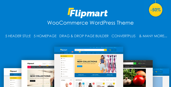 Image of Flipmart - Responsive Ecommerce WordPress
