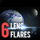 6 Pack Lens Flares 2 - GraphicRiver Item for Sale