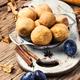pies with autumn plum - PhotoDune Item for Sale
