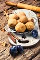 pies with autumn plum