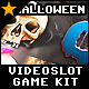 Videoslot Graphics Game Kit – Halloween Spins - GraphicRiver Item for Sale