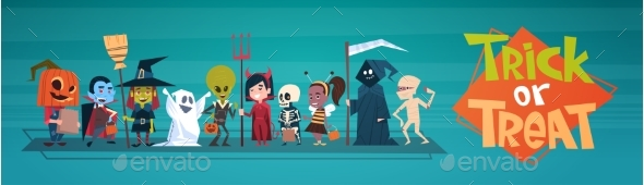 GraphicRiver Happy Halloween Banner 20710926