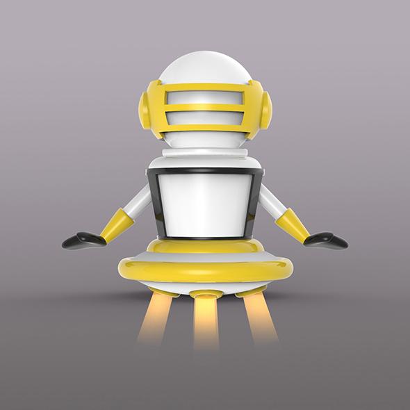 3DOcean Robot 20711129