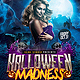 Halloween Madness Party Flyer Template - GraphicRiver Item for Sale