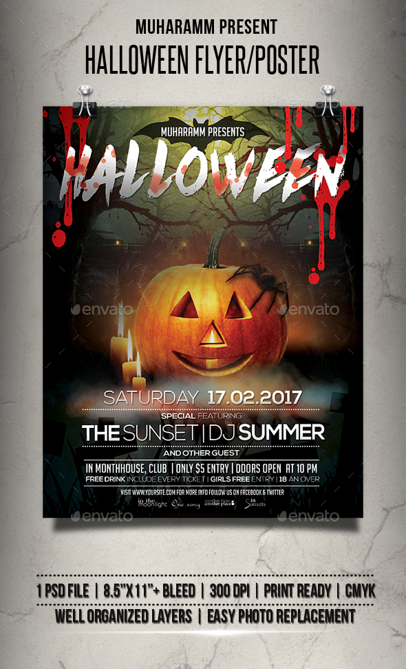 Halloween Flyer / Poster - Events Flyers