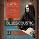 Blues Coustic Flyer / Poster